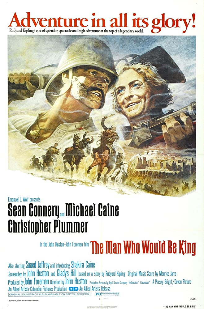 The Man Who Would Be King (1975) สมบัติมหาราช
