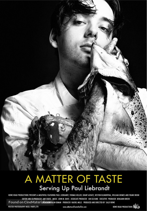 A Matter of Taste Serving Up Paul Liebrandt (2011)
