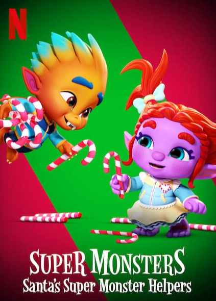 Super Monsters Santa's Super Monster Helpers